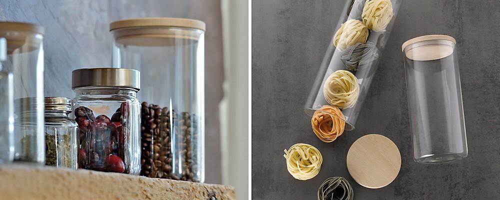 Vorratsgläser aus Glas Amelie von kela
