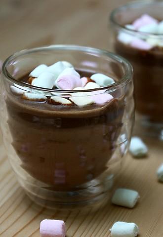 Heiße Schokolade – mit Marshmallows