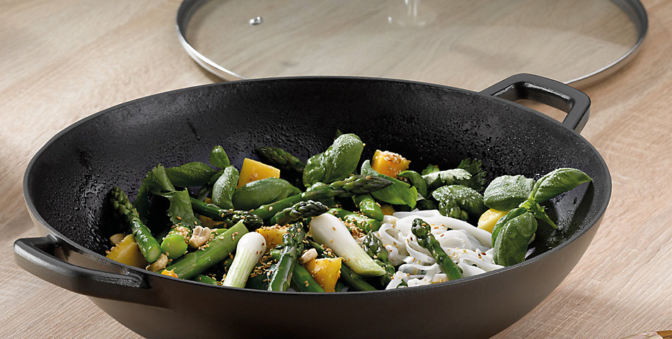 Woks | Leckere Gerichte zaubern mit Wok Pfannen von kela
