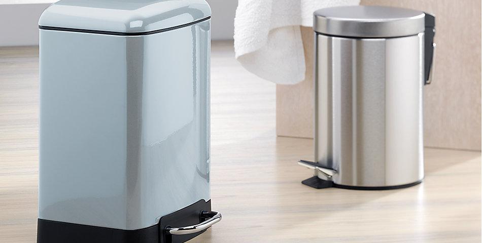 Treteimer für Badezimmer | in verschiedenen Größen und Farben, kleine Kosmetikeimer ab 3L und größere Treteimer.