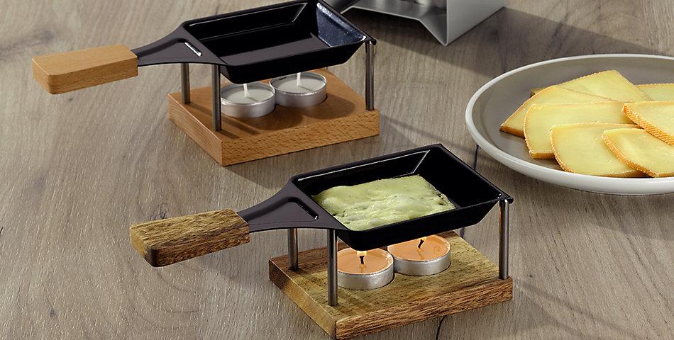 Raclette & Heißer Stein   Für gemütliche Abende mit Freunden oder besondere Anlässe sind Raclette Geräte ideal