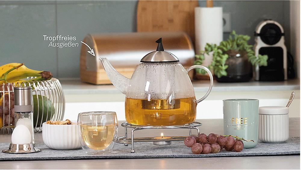Tee Fruehstueck doppelwandig